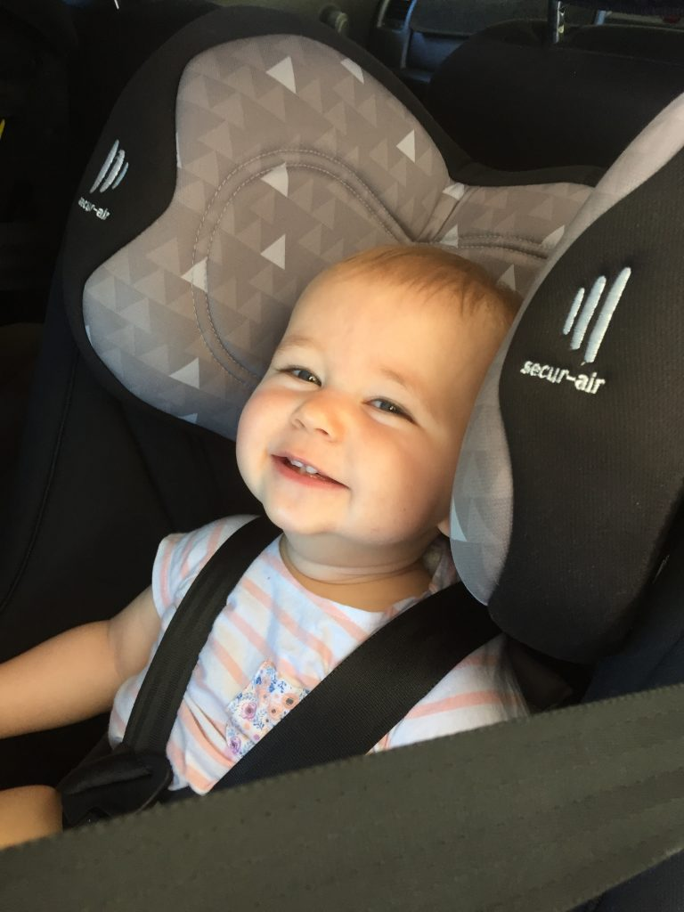 Picture of a baby smiling: Fit Right South West